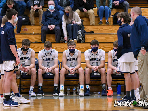 COLUMBUS CATHOLIC BOYS BASKETBALL DOWNS OWEN-WITHEE FOR THIRD-STRAIGHT WIN