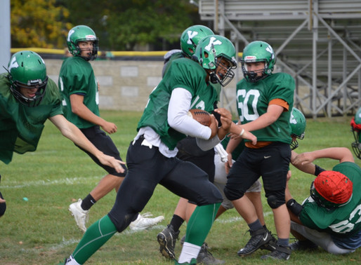 YORKTOWN'S JJ EVANS MAKES IMPACTS ON AND OFF THE FIELD