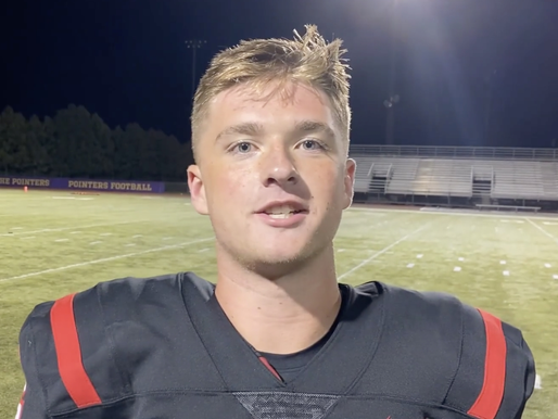 SPASH'S RILEY WARZYINSKI WINS VOTING FOR SEPTEMBER HIGH SCHOOL ATHLETE OF THE MONTH