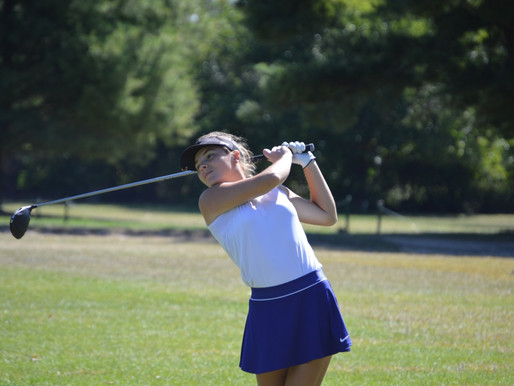 INTENSE DETERMINATION PROPELS TEDDI BISHOP ON THE GOLF COURSE