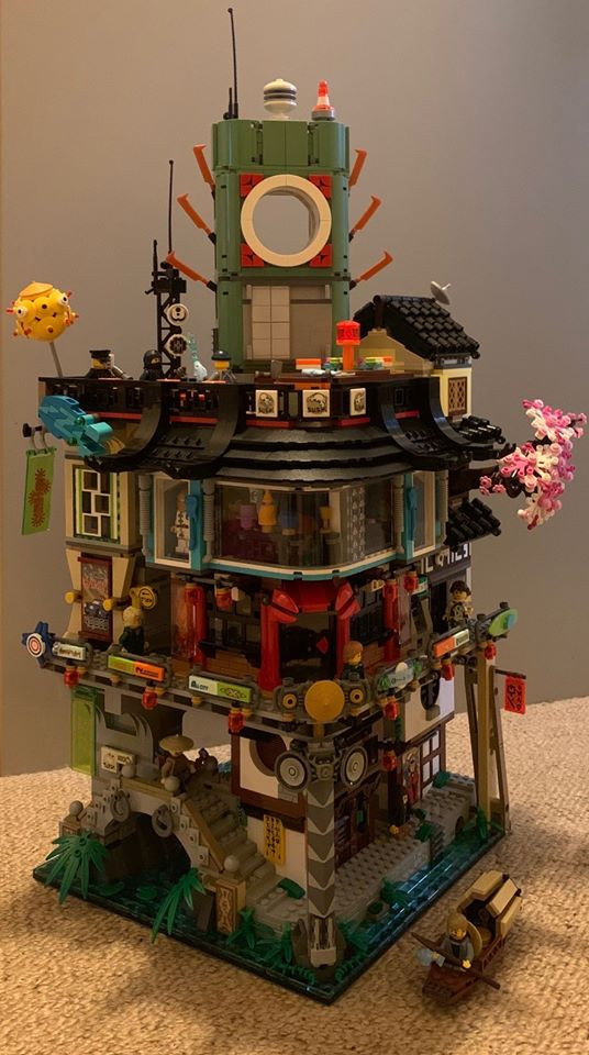 "Ben: ""Ninjago City. Can you make it to the top?"""
