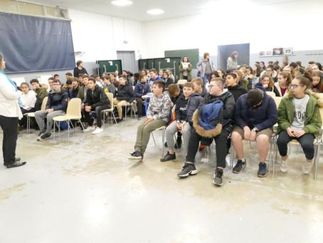 Nouvelles Pousses au Collège J. d'Arc de Pont de Beauvoisin