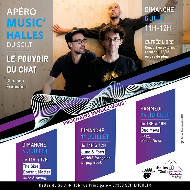 Apéro Music'Halles : Le Pouvoir du Chat