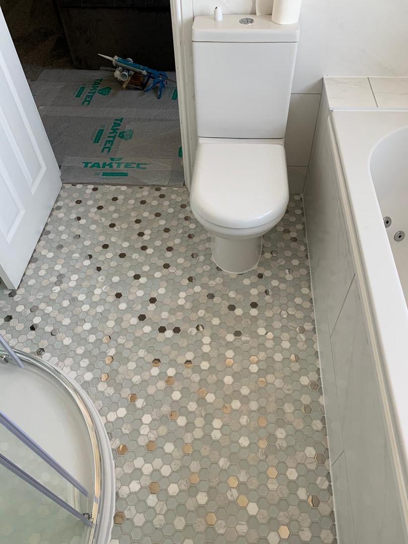 Mosaic Tiles flooring
