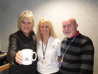 Mike Peters Visits RYG