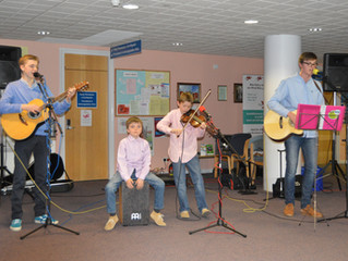 The Magee Brothers who performed at the RYG open day and sponsored event.