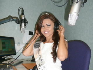 Miss Anglesey is guest on 'Awr Aur'