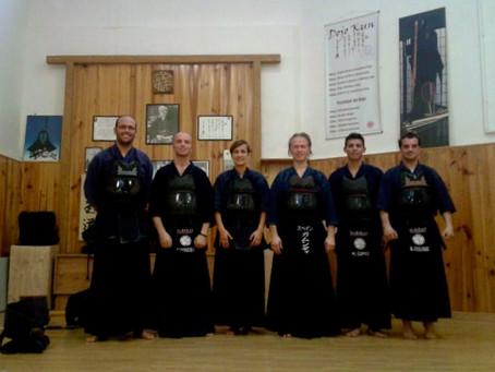 Entreno Tatsumi Ryu en Castellbisbal (Barcelona) 1 y 2 de noviembre