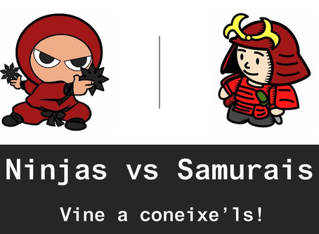 Casal d'Estiu - Ninjas vs. Samurais  - SETEMBRE 2018