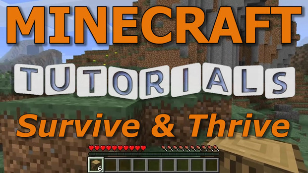 Minecraft Survive and Thrive Promo