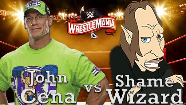 John Cena // BIG MOUTH Wrestlemania Meme