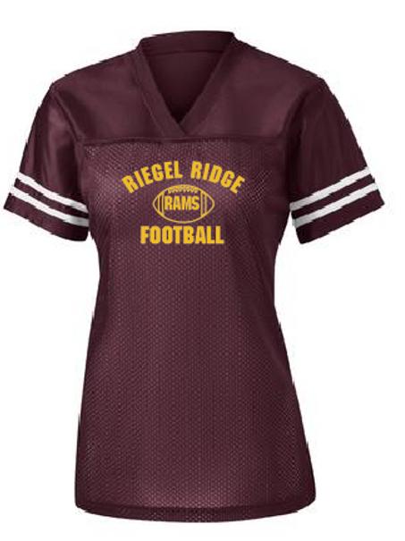 Sport-Tek® Ladies PosiCharge® Replica Jersey: Football Design