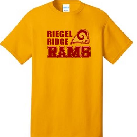 Cotton T-shirt (Plus Sizes): Ram Design