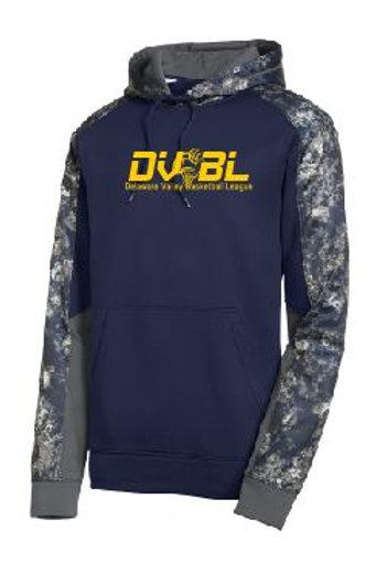 Sport-Tek® Sport-Wick® Mineral Freeze Fleece Colorblock Hoodie