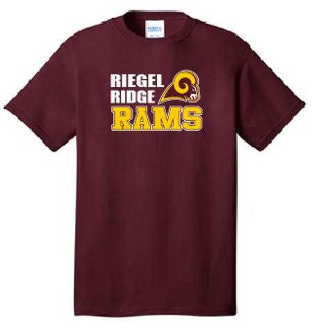 Core Cotton T-shirt: Ram Design