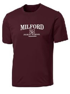 Performance RacerMesh® Tee (Plus Sizes): Milford Design