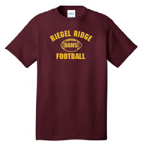Cotton T-shirt (Plus Sizes): Football Design