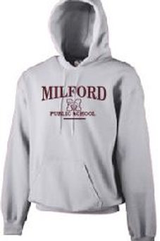 Fleece Pullover Hood (Plus Sizes): Milford Design