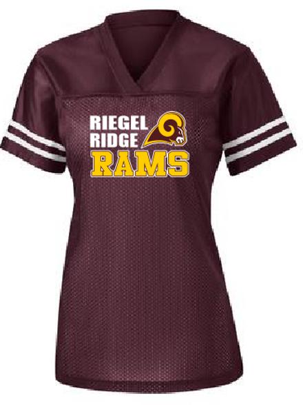 Sport-Tek® Ladies PosiCharge® Replica Jersey. : Ram Design