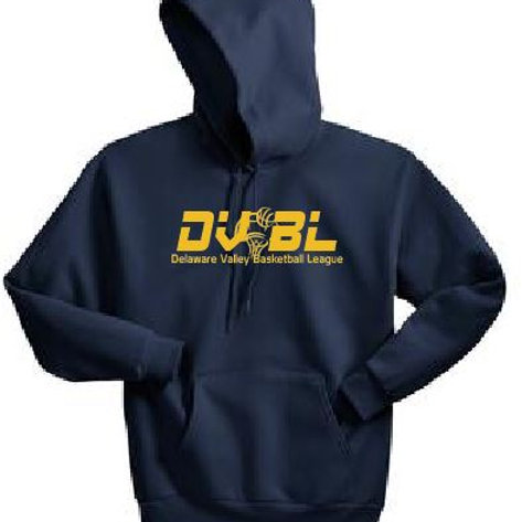 Fleece Pullover Hooded Sweatshirt: DVBL