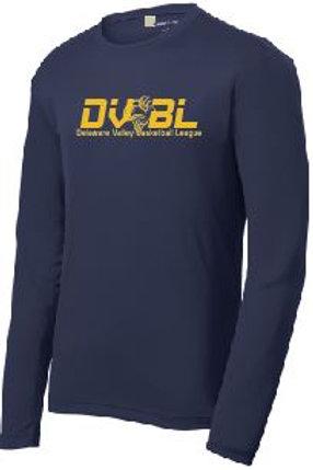 Dri Mesh Long Sleeve T-shirt (Plus Sizes): DVBL