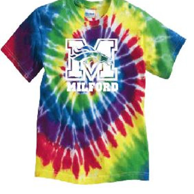 Tye Dye Tee (Plus Sizes): Mustang Design