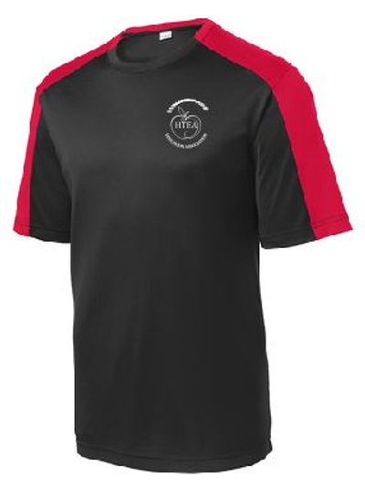 HTEA Sport-Tek® PosiCharge Competitor Sleeve- Blocked Tee (Plus Sizes)