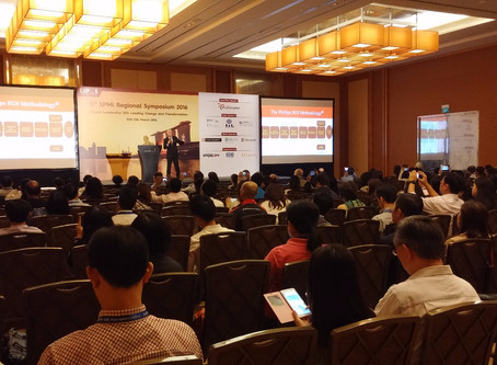 Colin Millward, speaks at the Singapore Project Management Institute Symposium 2016