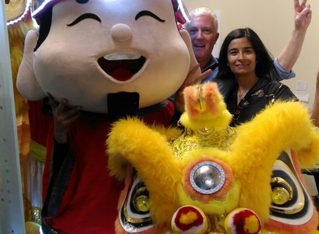 """Ringing In The Year of Rooster - """"Huat"""" Goes the BEC Team!"""