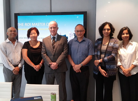Congratulations on a successful completion of the ROI Master Class!