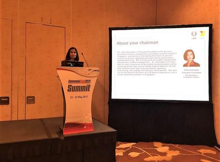 Business Evaluation Centre's Principal Consultant at CommunicAsia Summit 2017