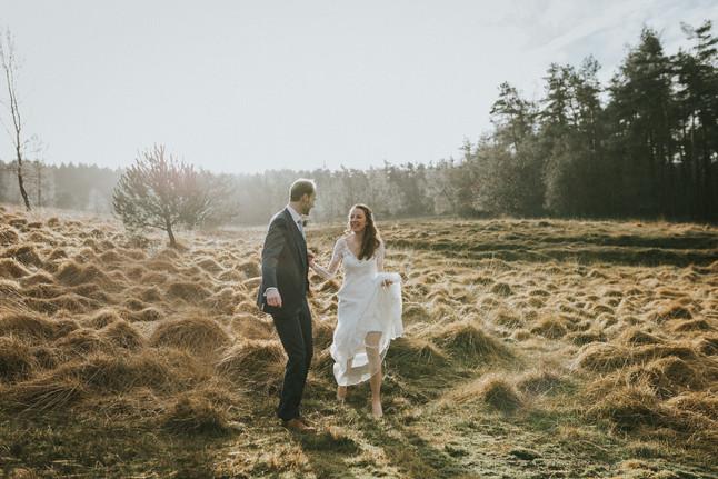 T + A | Intieme Winter Bruiloft op de Veluwe