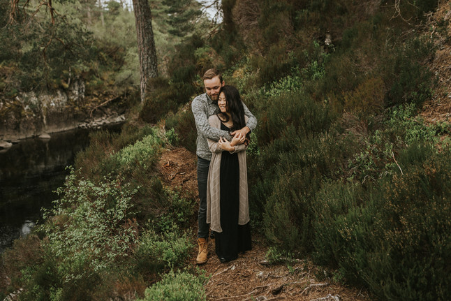 R + E //Loveshoot in Schotland // Glen Affric