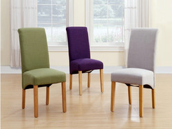 GRACE LINEN DINING CHAIRS