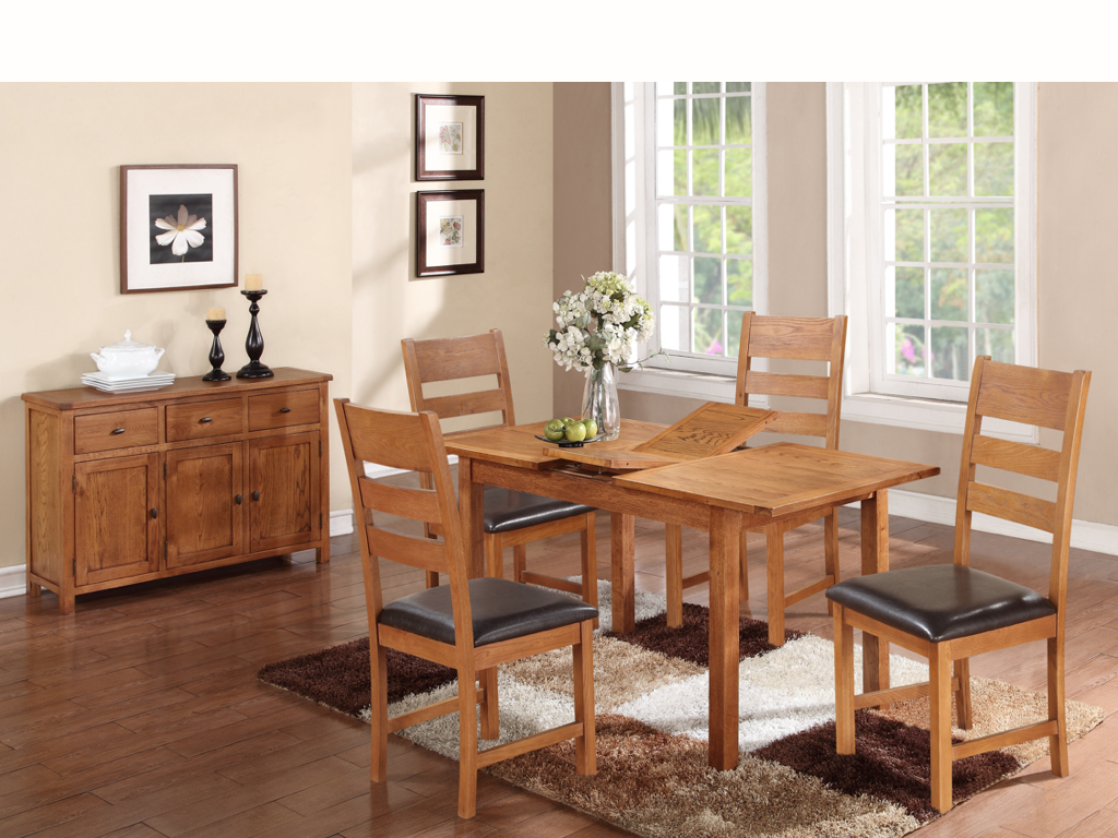 HARTFORD COUNTRY OAK DINING SET