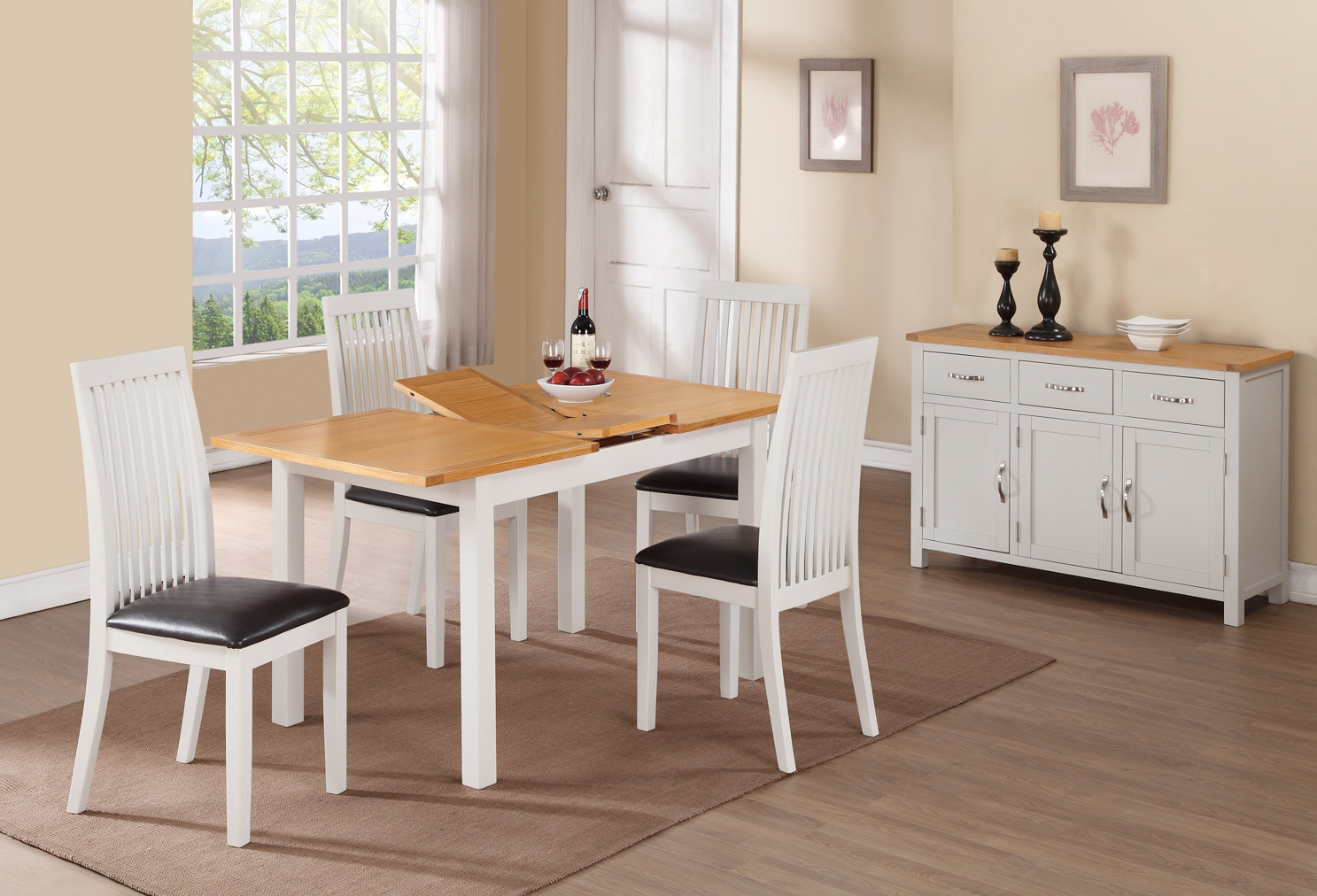 HARTFORD PAINTED DINING SET