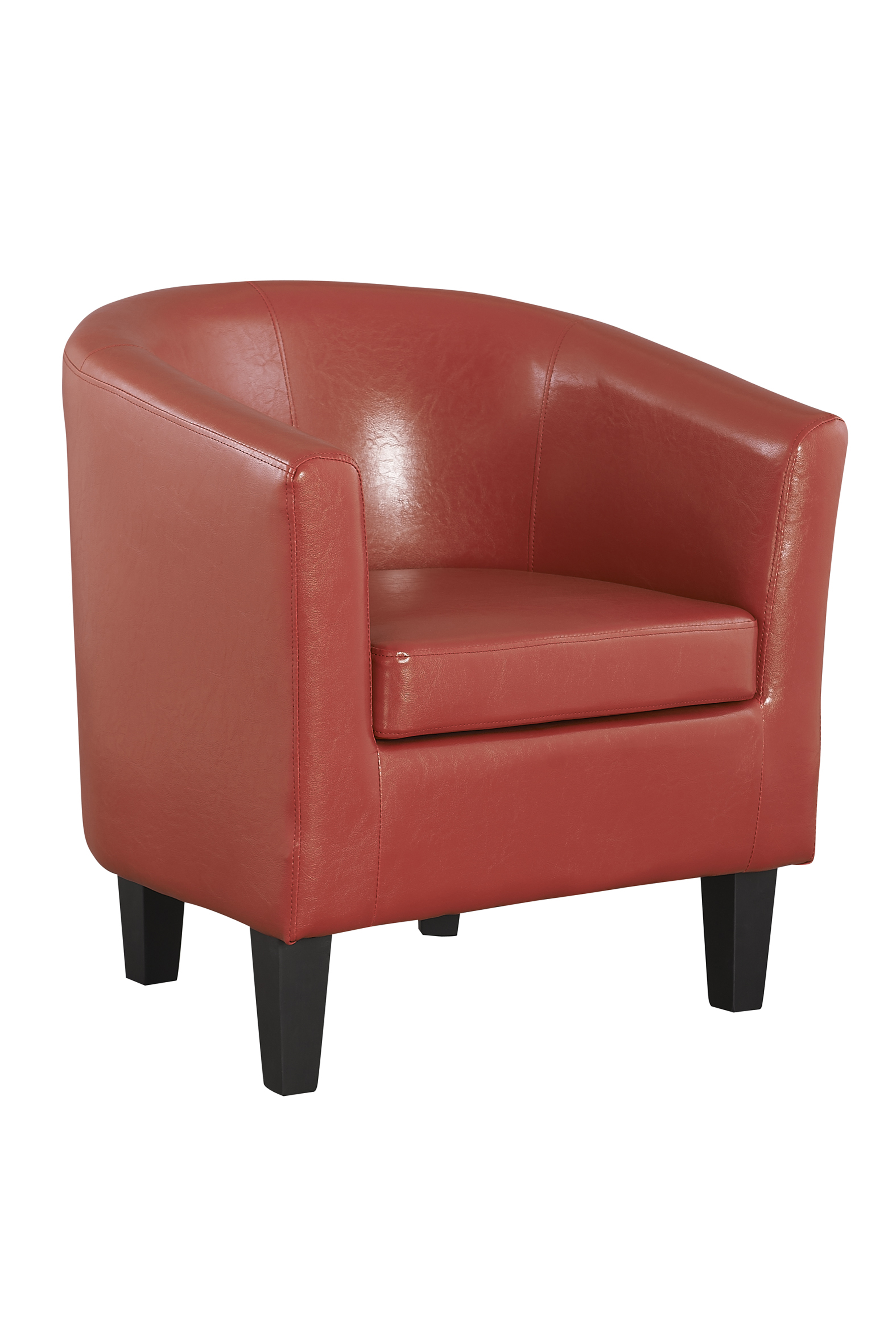 COLBY RED TUB CHAIR