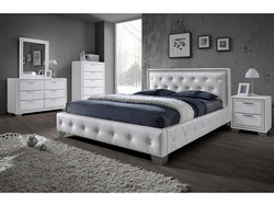 CRYSTAL WHITE BEDROOM RANGE