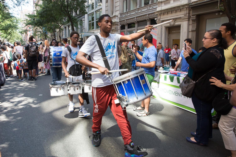The Blue Angels Drumline