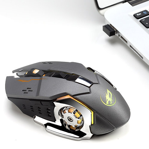 Warwolf Q8 Wireless Gaming Mouse With 6 Buttons