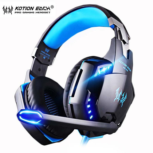 KOTION EACH Gaming Wired Headset With Microphone for PS4, PC, & Laptop