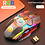 Thumbnail: Rechargeable RGB & Backlit 1600 DPI Gaming Mouse  with 7 Keys