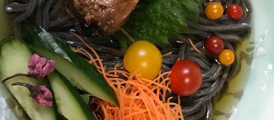 健康一番!黒胡麻麺
