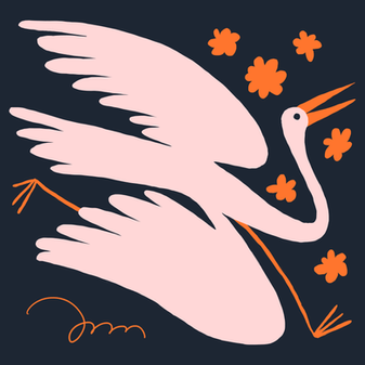 Busy Stork