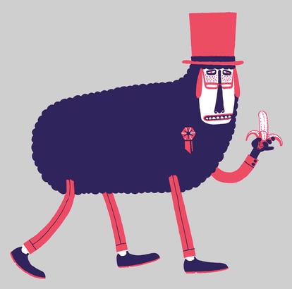Celluloid Sheep