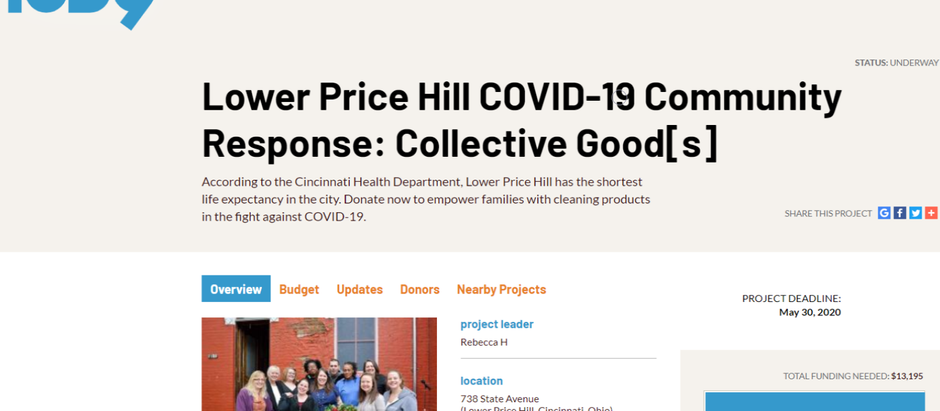 Lower Price Hill invests thousands in its community with IOBY fundraising platform