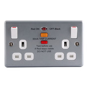 Metalclad RCD Socket