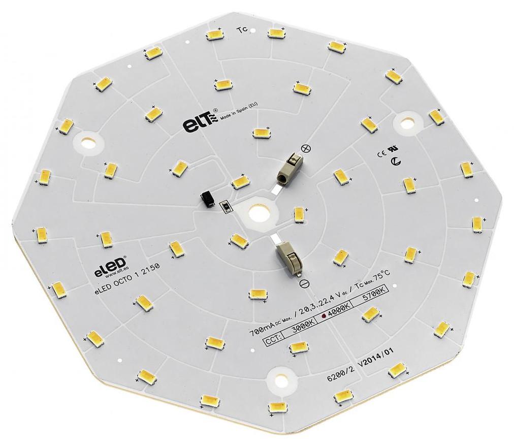 LED Hexagon Plate