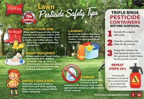 Lawn Pesticide Safety Tips