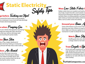 Static Electricity Safety Tips